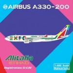 Alitalia A330-200(1:400)EI-EJM