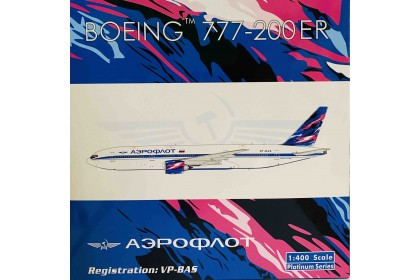 Aeroflot B777-200ER VP-BAS (1:400 scale)