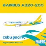 Cebu Pacific Air A320 (1:400) RP-C4107