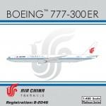Air China B777-300ER (1:400) B-2046