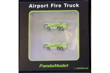 GSE Airport Fire Truck (1:400) 2 pieces