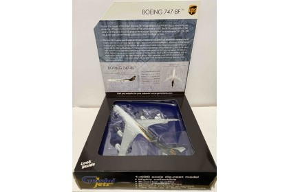 """UPS Boeing 747-8F """"New Livery""""  (1:400 scale)"""