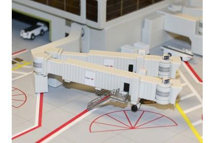 Set of 3 Double/Widebody Airbridges 1:400
