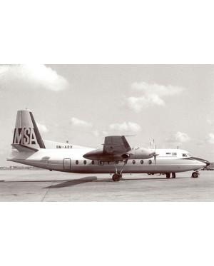 MSA F27(1:400)9M-AQX