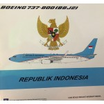Republik Indonesia B737-800 (scale 1:200) A-001