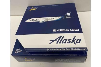 Alaska Airlines A320-200 N625VA (1:400 scale)