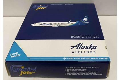 "Alaska ""New Livery, Scimitars"" B737-800S N563AS  (1:400 scale) - last piece"