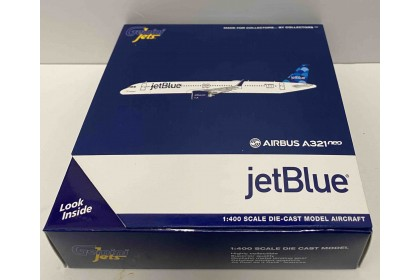 JetBlue A321neo N2002J half-circles on tail (1:400 scale)