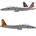 Preorder RSAF F15SG(1:72)142nd sqn 'Gryphon' 2017 & 428th sqn 'Buccaneers' 2015(ETA Feb 20)