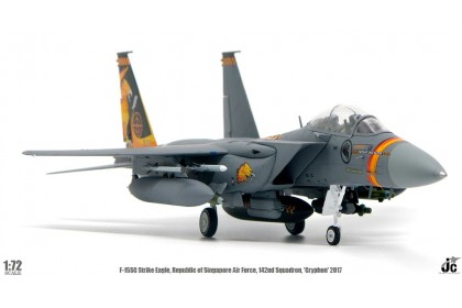 RSAF F15SG 142nd sqn 'Gryphon' 2017 & 428th sqn 'Buccaneers' 2015 (1:72 scale)