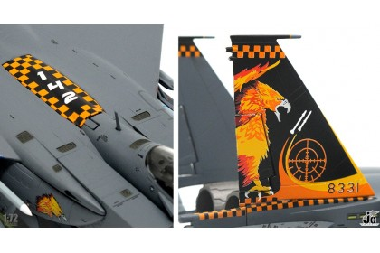 RSAF F15SG 142nd sqn 'Gryphon' 2017 & 428th sqn 'Buccaneers' 2015 (1:72 scale)