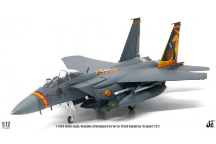 Republic of Singapore Air Force RSAF F15SG (1:72)142nd sqn 'Gryphon' 2017