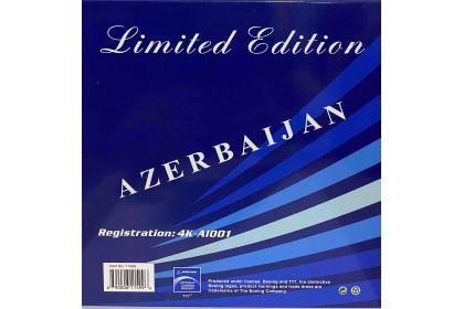 Azerbaijan Airlines B777-200LR 4K-AI001 (1:400 scale)