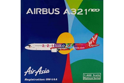 AirAsia A321neo 9M-VAA (1:400 scale)