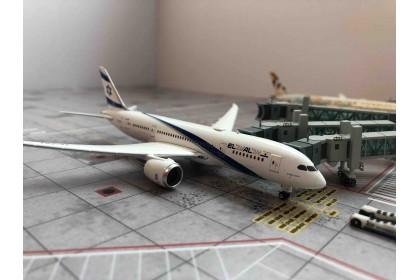 EI AI Israel Airlines B787-8 4X-ERA 1:400