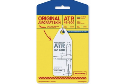 Original Aircraft Skin ATR 42 – HK-4748 (White)
