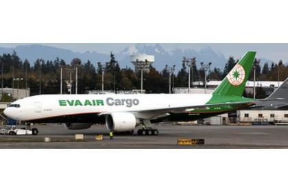EVA Air Cargo Boeing 777-200(LRF)  Reg: B-16781 With Antenna 1:400