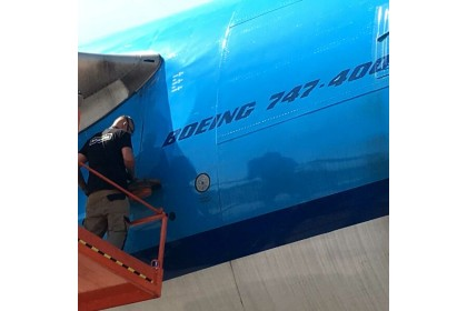 Original Aircraft Skin Boeing 747 – PH-BFR
