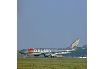 Original Aircraft Skin Airbus A330 - UR-WRQ (Green)