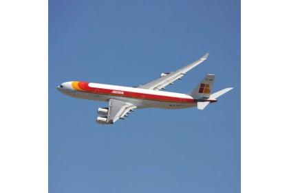 Original Aircraft Skin Airbus A340 – EC-GUP (bright red)
