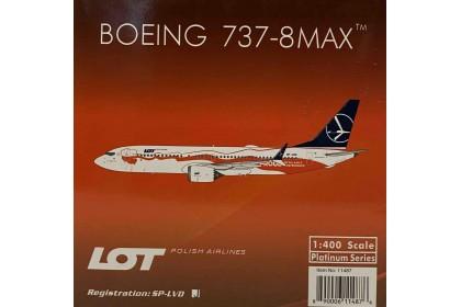 LOT Polish Airlines B737-8 SP-LVD 1:400