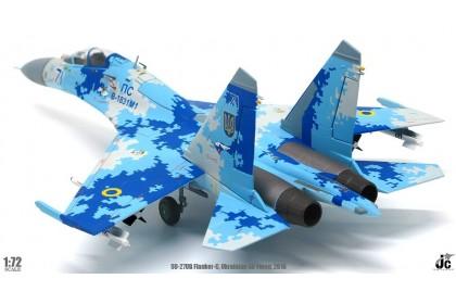 SU-27UB Flanker-C Ukrainian Air Force, 2016 (scale 1:72)