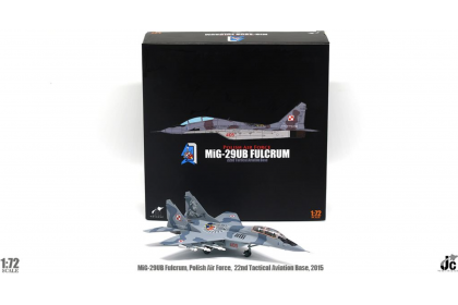 MiG-29UB Fulcrum Polish Air Force, 22nd Tactical Aviation Base, May, 2015 (scale 1:72)