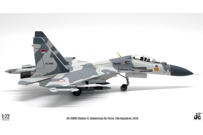 SU-30 MK Flanker-C Indonesian Air Force, 11th Squadron, 2016 (scale 1:72)