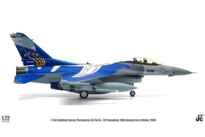 F-16A Fighting Falcon Portuguese Air Force, 201 Squadron, 50th Anniversary, 2009 (scale 1:72)