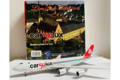Cargolux 50 Years B747-8F LX-VCC (1:400 scale)