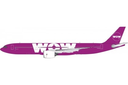 WOW Air A330-900neo TF-BIG (1:400 scale)