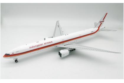 "Garuda Indonesia Boeing 777-300ER PK-GIK ""Retro"" PK-GIK. with stand (scale 1:200)"