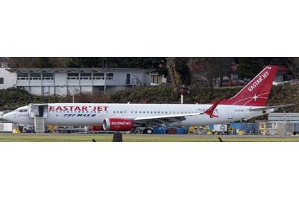Eastar Jet Boeing 737-8 Max Reg: HL8341 With Antenna 1:400