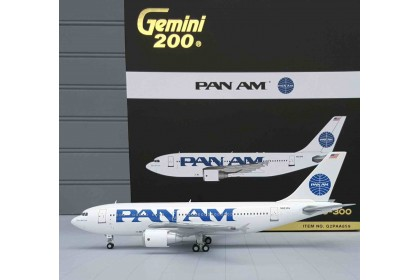 "Pan Am Airbus 310-300 N823PA ""Clipper Golden Light""  (scale 1:200)"