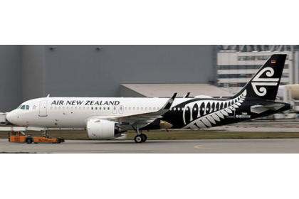 Air New Zealand Airbus A320NEO Reg: ZK-NHA With Antenna 1:400
