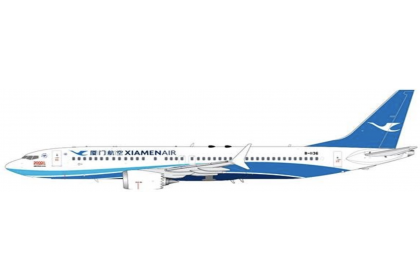 """Xiamen Airlines B737-8 Max """"2000th Boeing Aircraft for China"""" B-1136"""