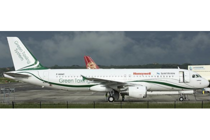 Safran A320 (Green Taxiing System Livery) F-HGNT 1:400