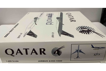 Qatar Airways A350-1000 A7-ANE Oneworld With Stand 1:400