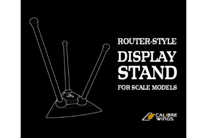 Router-Style Display Stand