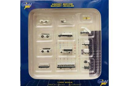 14 Piece Ground Accessories Set (1:400 scale)