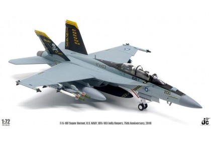 F/A-18F Super Homet US Navy VFA-103 Jolly Rogers, 75th Anniversary 2018 (1:72 scale)