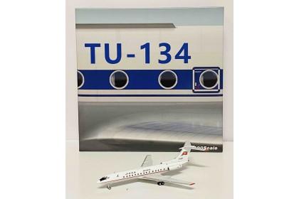 "Air Koryo Tu-134B-3 ""old livery"" P-813 (1:400 scale)"