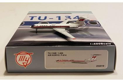 "Air Koryo Tu-134B-3 P-814 ""old livery"" (1:400 scale)"