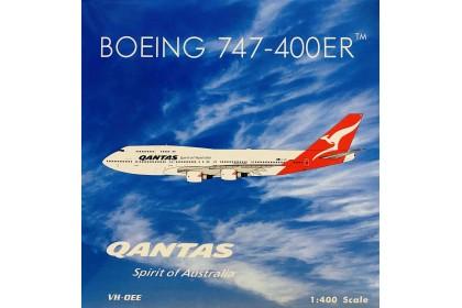 Qantas Last Flight B747-400 VH-OEE (1:400 scale)