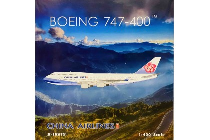 China Airlines Boeing 747-400 B-18215 (1:400 scale)