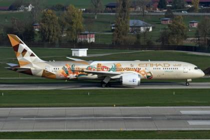 "Etihad Airways ""Choose Italy"" B787-9 A6-BLJ (1:400 scale)"