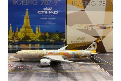 """Etihad Airways """"Choose Thailand"""" B787-9 A6-BLI (1:400 scale)"""