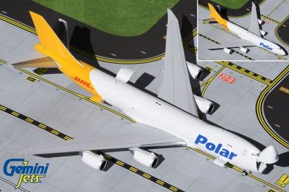 Polar Air Cargo / DHL B747-8F N853GT (Interactive Series)(1:400 scale)