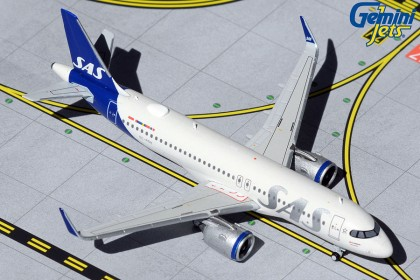Scandinavian Airlines (SAS) A320 SE-ROH new livery (1:400 scale)