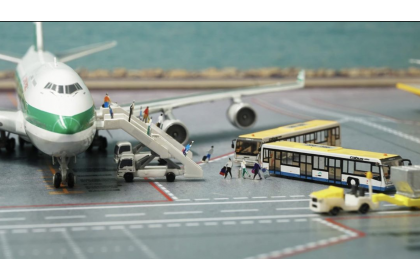 Airport staff (1:400 scale)